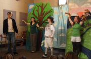 Performers from the Yale Children's Theater